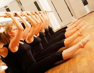 Balett rúdgyakorlat