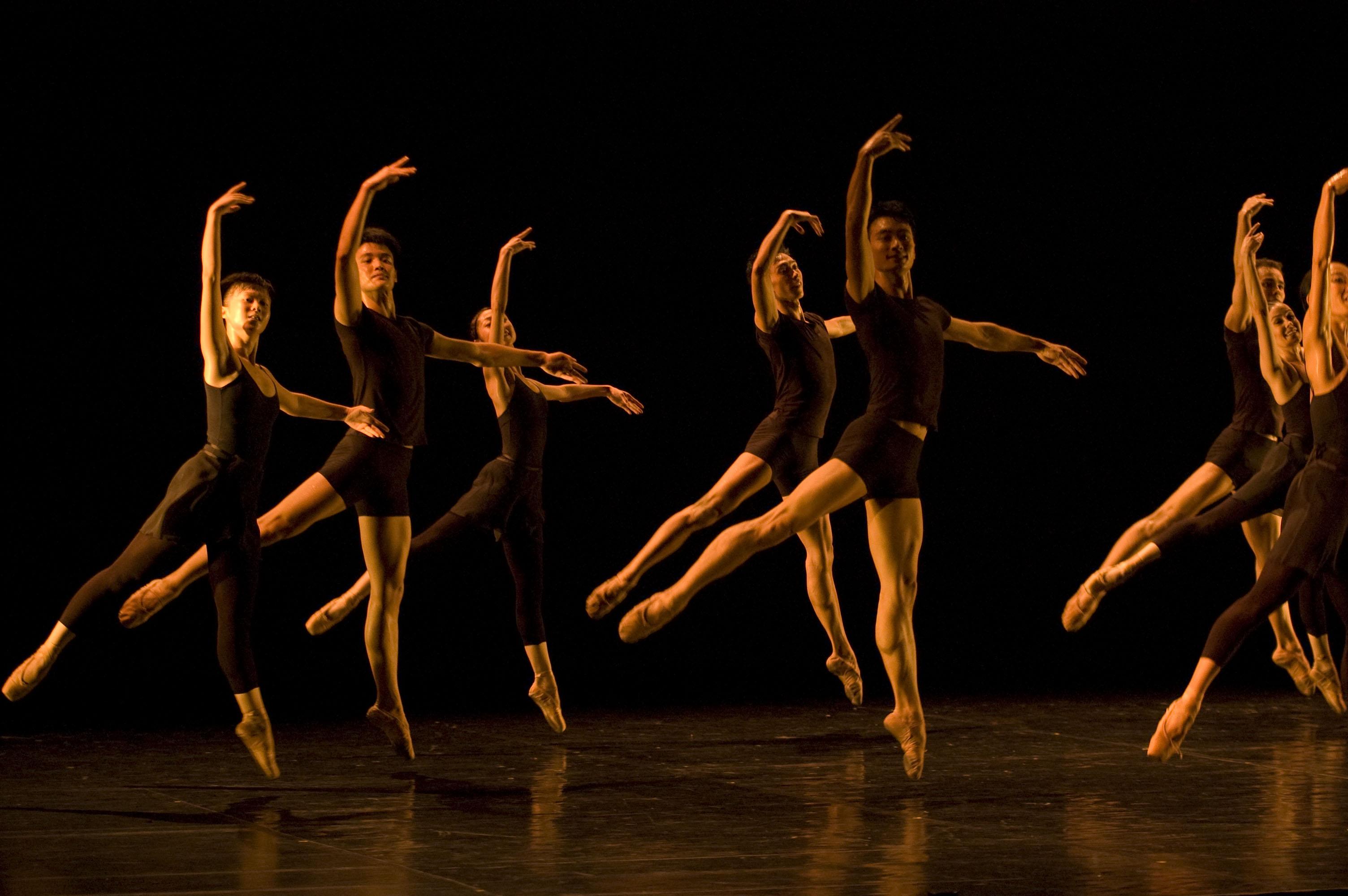 Kis allegro - balett ugrás